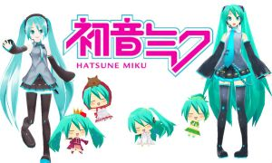 MMD Hatsune Miku Background by Aisuchuu