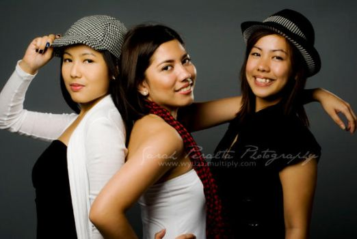 Trina, Monina and Marla by pinay-malaya