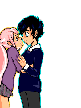 Lune and James by defective-kittie