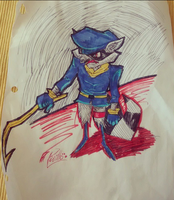 Sly Cooper by BronyDomo