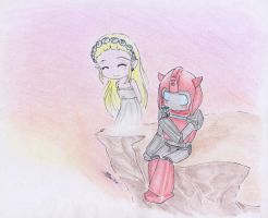 A Flower For Her... by Sidian07