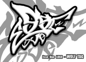 WOLF LOGO TAG - essedue by EsseDue
