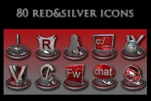 red and silver collection by xylomon