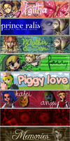 Legend of Zelda Signatures II by Aerostella