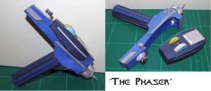 Phaser - Star Trek by SarienSpiderDroid