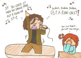 Robert Langdon...cant sing by cartoonchick123