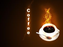 Cup of coffee by Al4eto