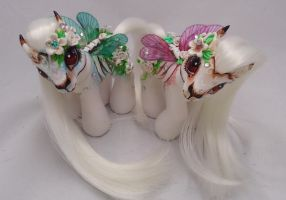 My little pony custom Dia de Muertos Rahui Ariche by AmbarJulieta