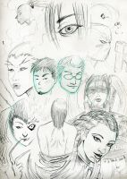 Faces of Something by ZhaxRa