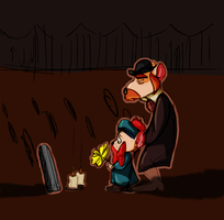 Funeral by TopHatTurtle