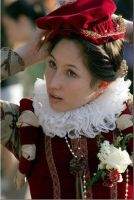 Red Elizabethan by Lady-Lovelace