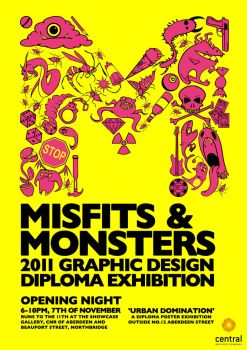 Misfits and Monsters by Julia-Alison