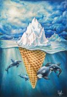 Lost ice cream in Arctic oceans by upacers