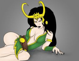 Female Loki by Karbacca