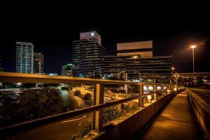 Lit Pathway by 904PhotoPhactory
