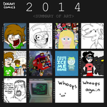 Summary of Art 2014 by DogartComics