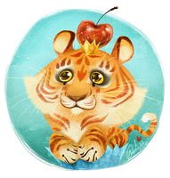 Tigercupcake! by Fairygodflea
