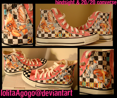 blind pink converse by lolitaAgogo