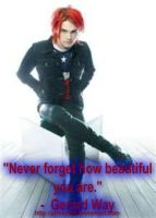 Gerard Way Quote 2 by princeWTF