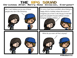 The RPG Squad Holidays 2012 by Number9Robotic