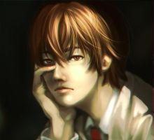 Death Note - Boredom by swift-winged-soul