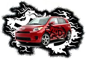scion xd skin by happycabbage777