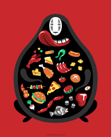 Gluttonous God [T-shirt] by Versiris