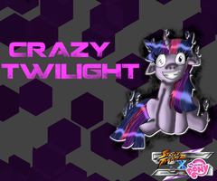 SFxMLP Crazy Twilight wallpaper v3 by CrossoverGamer