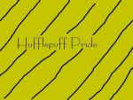Hufflepuff Pride by LadyPotter