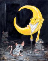 Nailing Down The Moon II by ursulav