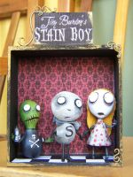 Tim burton's stain boy by Fabreeze