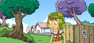 El Chavo joins Crossover Falls Rises by SuperMarcosLucky96
