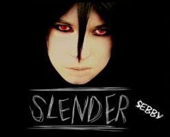 Slender-Sebby by PuniiiPuniii