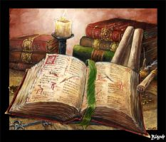 The Tome of Knowledge by Stormcrow135