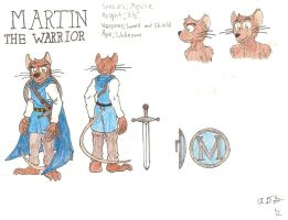 Martin Reference Sheet and Bio by Gardboyz-Productions