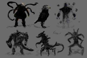 Monsters 001 by CRAZYBABOON83