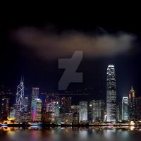 Hong Kong Skyline by Spanishalex
