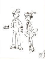 Spirou and Pompon by FFF66