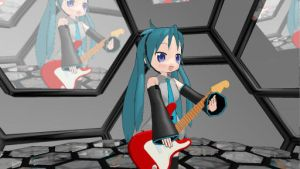Play Your Guitar Kagami by PatrickHiwatari