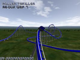 Roller Thriller Re-Dux WIP 7 by Coasterfreak