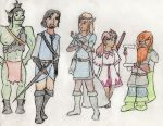 What if Pokemon X happened in a Medieval Fantasy? by Kidforlife