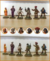 Miniatures - The Aiyyars by Bjerg