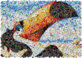 Rio - the movie Mosaic by Cornejo-Sanchez