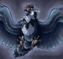 Staraptor by Zyleeth