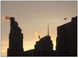 Chicago Morning by sicklittlemonkey