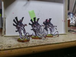 Tyranid Venomthrope Brood by Danhte