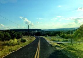 Hillcountry road by TheGerm84