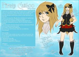 Original: Pirate Cashoo REF. by Pirate-Cashoo