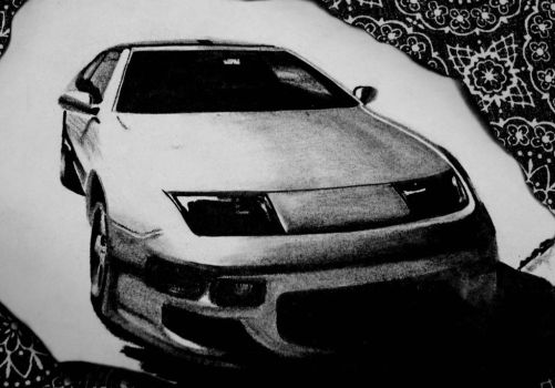 Nissan 300zx by mabzart