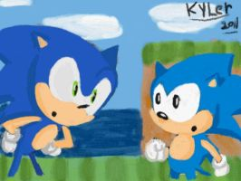Sonic Generations by ExploadingRabbits